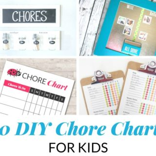 DIY Chore Charts For Kids