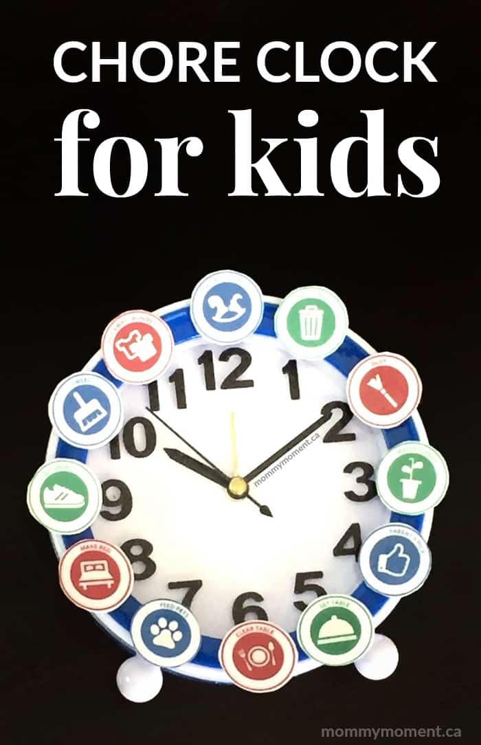DIY Chore Clock for Kids