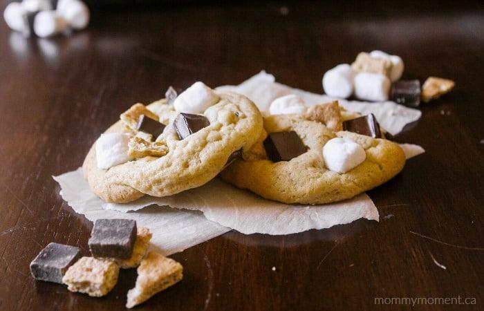 Smores Chocolate Chip Cookie Recipe