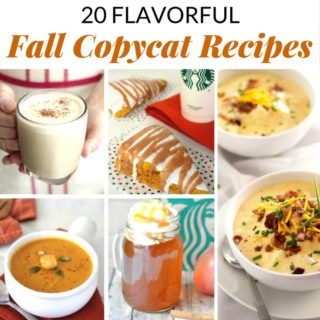 20 Fall Copycat Recipes