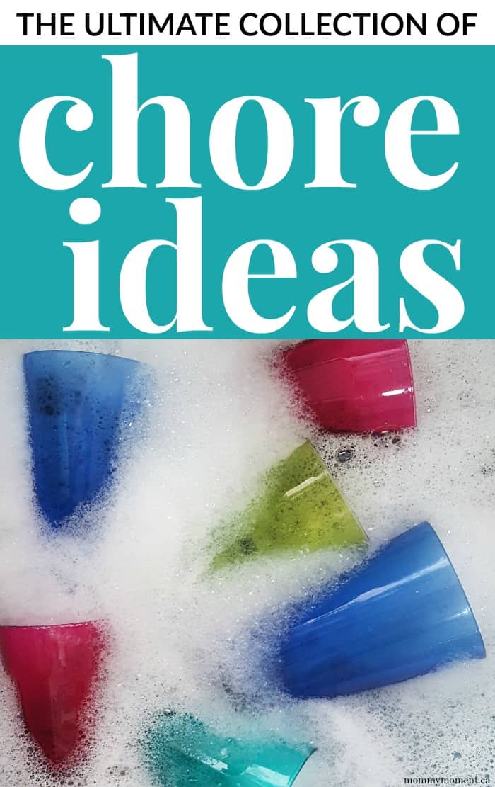 Ultimate Collection of Chore Ideas