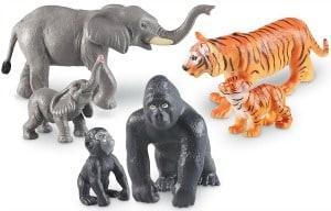 Jumbo Jungle Animals, Babies and Mommas