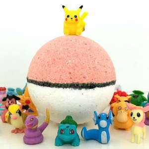 Pokebomb with toy
