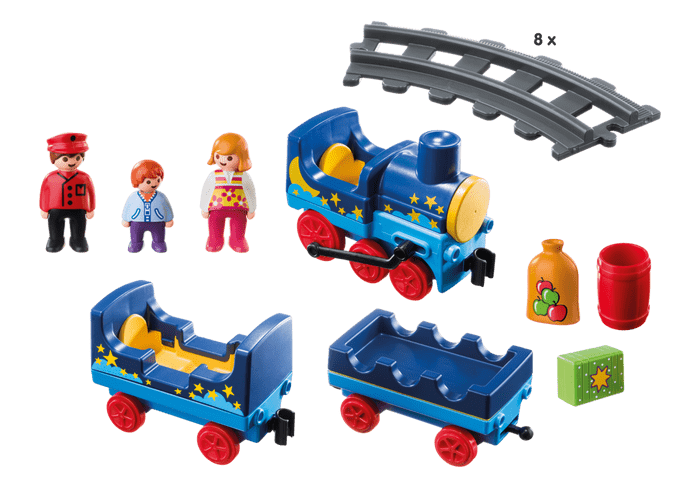 Playmobil night train