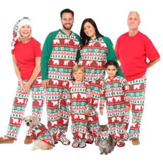 MATCHING CHRISTMAS PAJAMAS FROM SNUG AS A BUG #31DAYSOFGIFTS