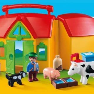 PLAYMOBIL MY TAKE ALONG FARM #31DAYSOFGIFTS