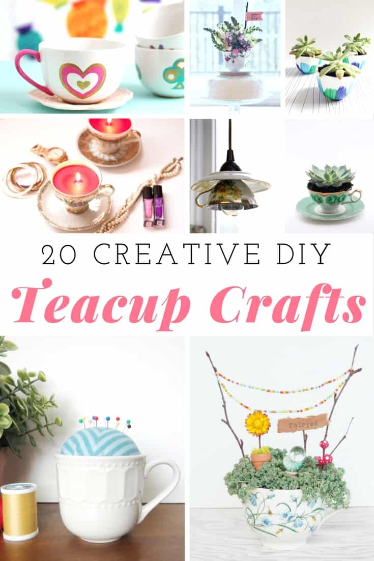DIY Teacup Crafts