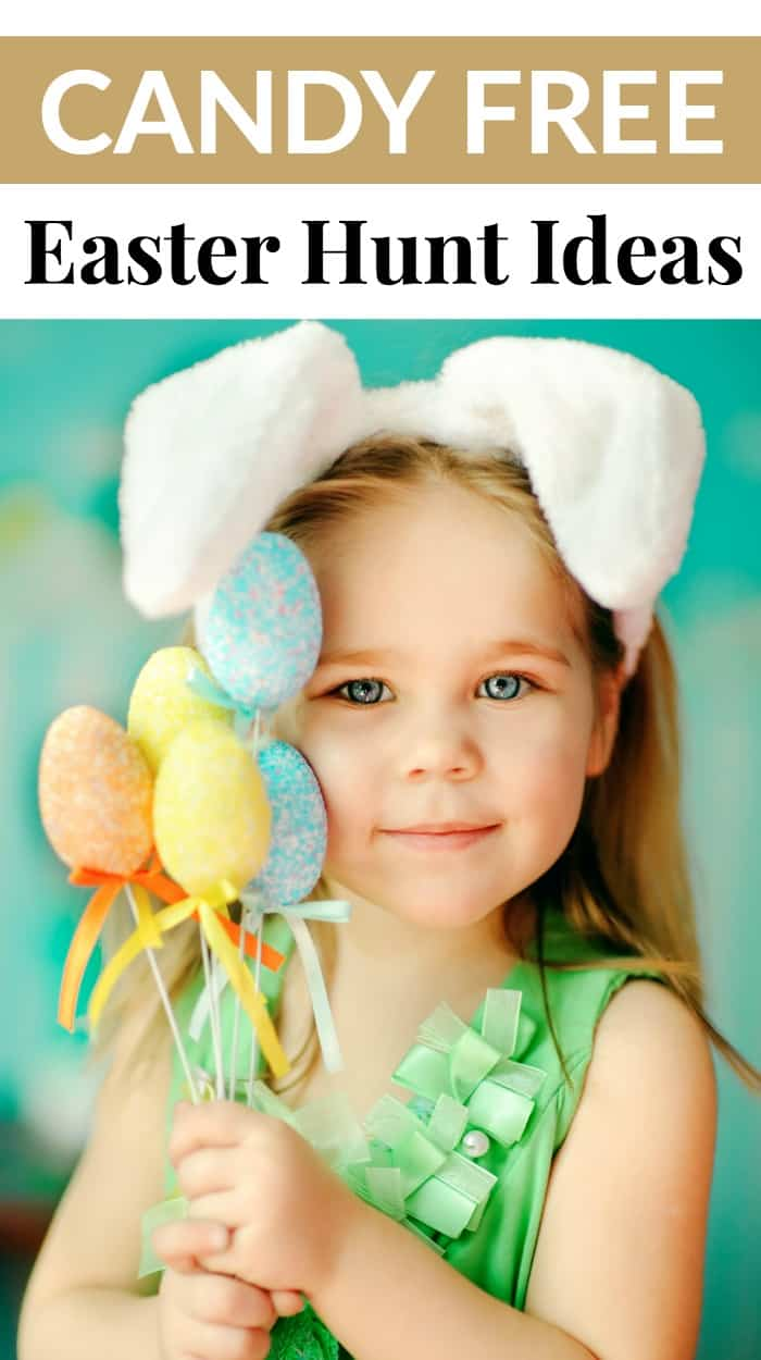 candy free easter hunt