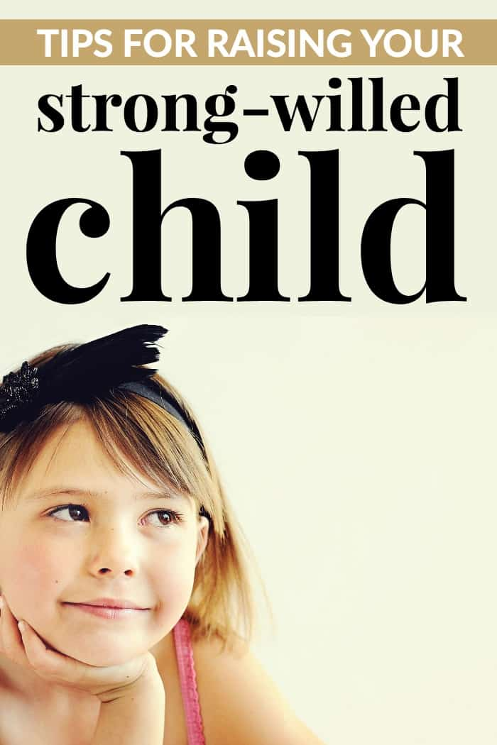 parenting your strong-willed child