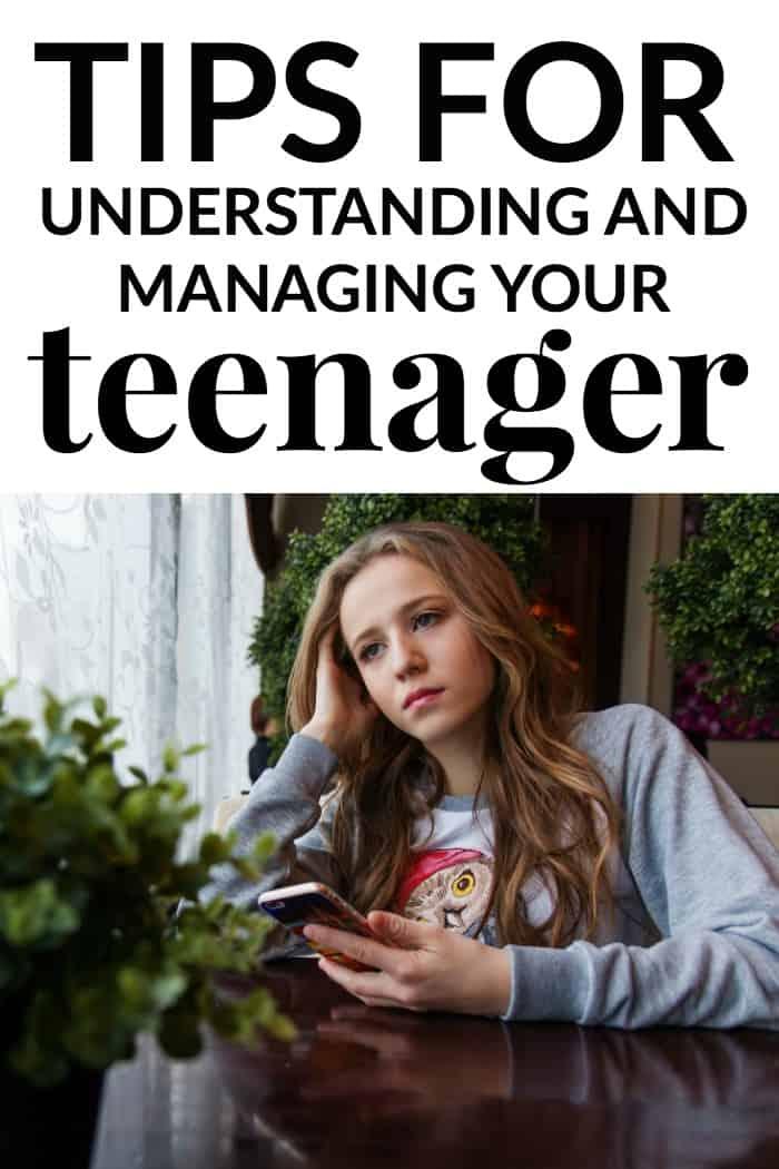 understanding and managing your teenager
