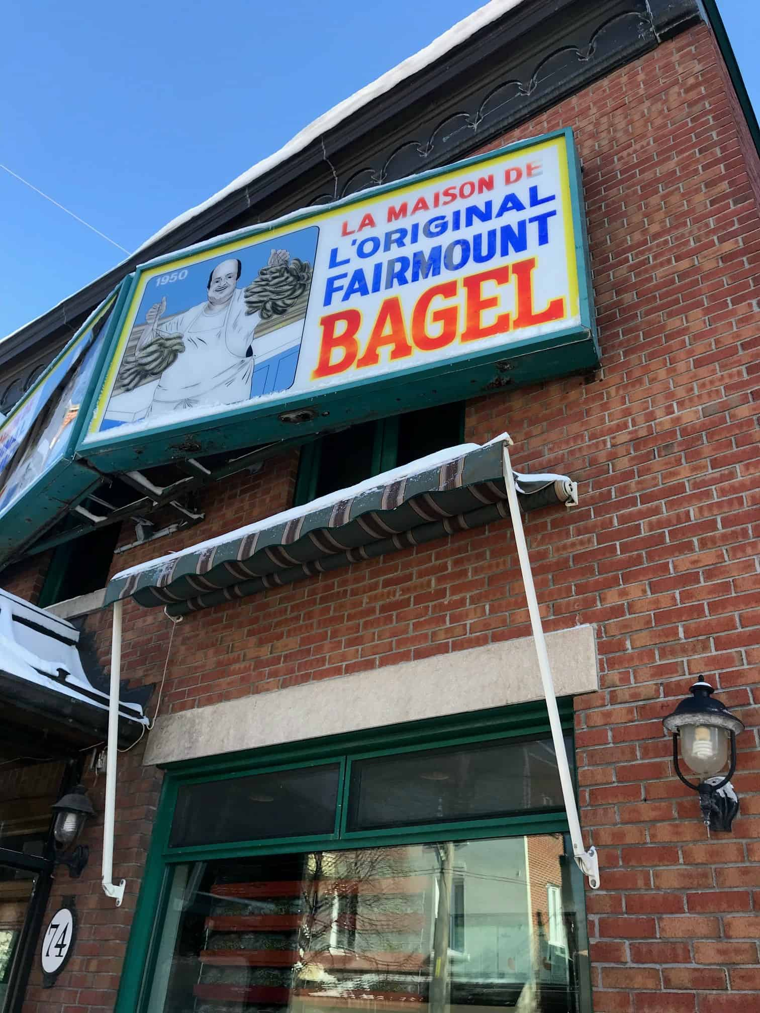 montreal best fairmount bagel
