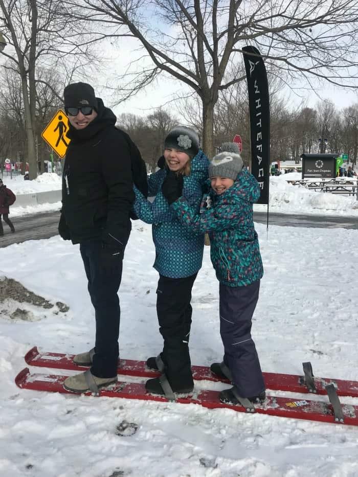 skiing montreal Fête des neige