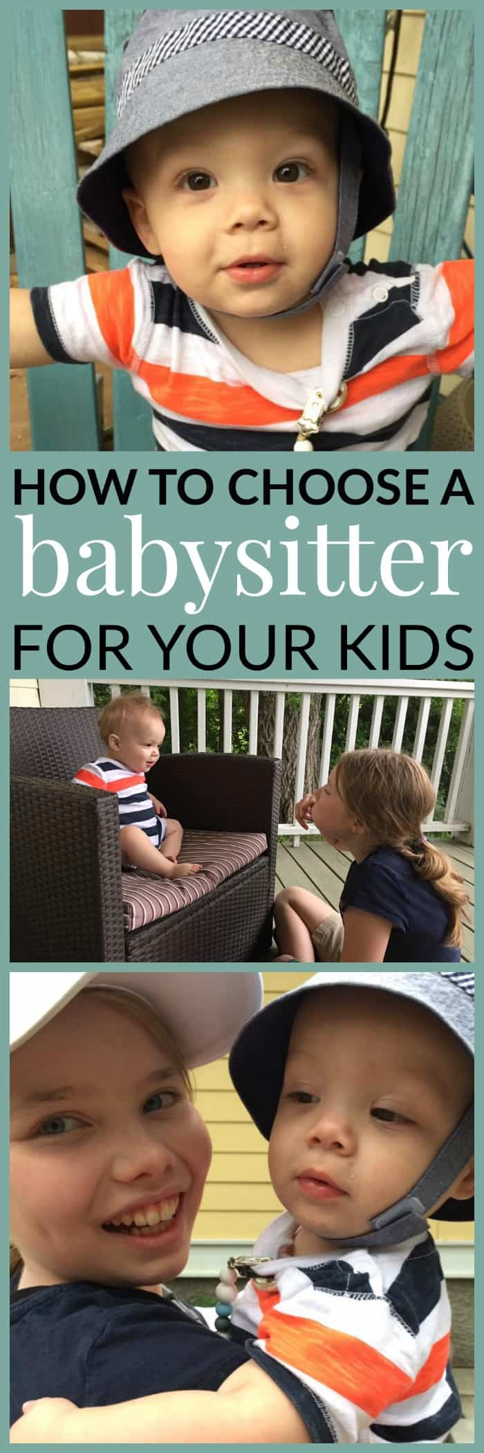 How to find a babysitter for your kids