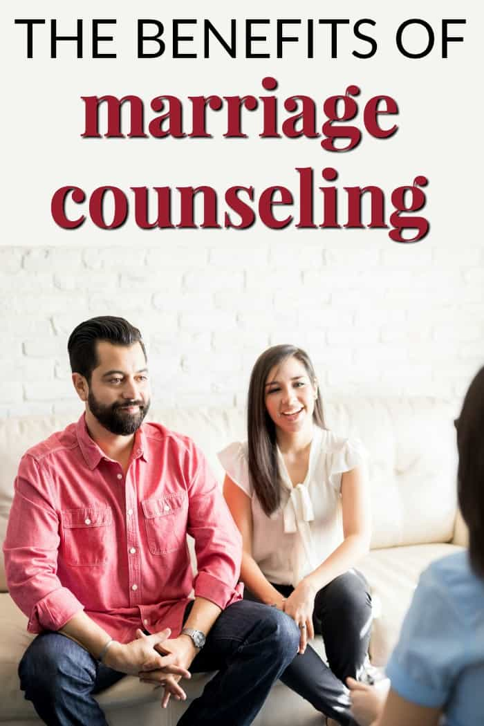 The benefits of marriage counseling